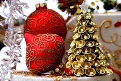 cristmas装饰 库存图片