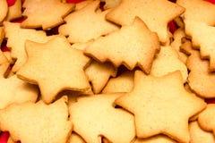 Cristmas饼干 免版税库存图片