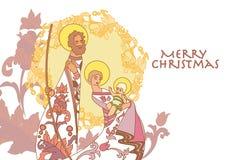 cristmas παχνιών Στοκ Φωτογραφία
