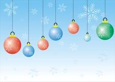 cristmas σφαιρών Στοκ φωτογραφία με δικαίωμα ελεύθερης χρήσης
