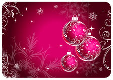 cristmas σφαιρών Στοκ εικόνα με δικαίωμα ελεύθερης χρήσης