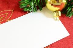 cristmas карточки Стоковые Изображения RF