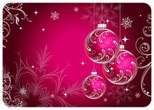 cristmas шариков Стоковое Изображение RF