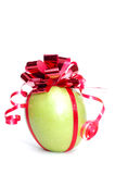 Cristmas apple. Royalty Free Stock Images