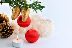 Cristmas background Stock Photography