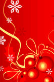 Cristmas background red. Vector by  illustration Stock Photo