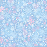 Cristmas background with snowflakes Royalty Free Stock Photography