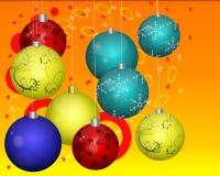 Cristmas balls Royalty Free Stock Image