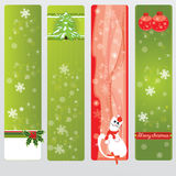 Cristmas_banners Stock Images