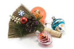 Cristmas besom 3 Stock Photography