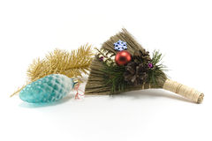 Cristmas besom 4 Royalty Free Stock Image