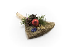 Cristmas besom Stock Photography