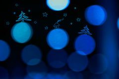Cristmas blur Royalty Free Stock Photography