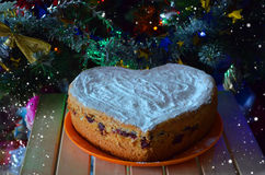 Cristmas cake Royalty Free Stock Photo