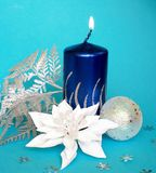 Cristmas candle Royalty Free Stock Photo