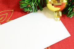 Cristmas card Royalty Free Stock Images