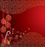 Cristmas cart. Abstract christmas background. Vector illustration in AI-EPS8 format Stock Photos