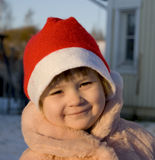 Cristmas child Stock Photography
