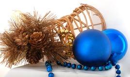 Cristmas decoration. Christmas balls .embellishment cristmas.on white background Royalty Free Stock Image