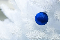Cristmas decoration. On the white tree Stock Photography