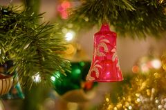 Cristmas decoration. Christmas decoration photo on the background stock photos