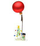 Cristmas Decoration Red Balls Royalty Free Stock Photo