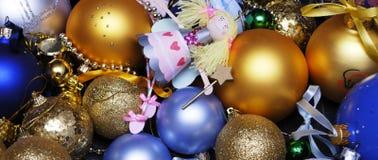 cristmas dekoracja Fotografia Royalty Free