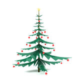 cristmas drzewni Zdjęcie Royalty Free