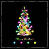 cristmas drzewni Obraz Stock