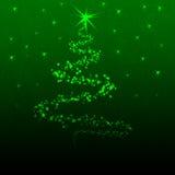 cristmas drzewni Zdjęcia Stock