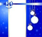 Cristmas en gelukkige nieuwe jaargelukwensen stock illustratie