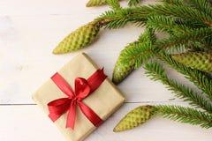 Cristmas gift box Royalty Free Stock Photo