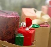 Cristmas gifts - Christmas presents Stock Photos