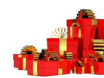 Cristmas gifts. Stock Photo