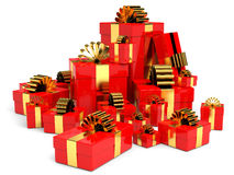 Cristmas gifts. Royalty Free Stock Photography