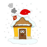 Cristmas house Royalty Free Stock Images