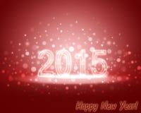 Cristmas kartka z pozdrowieniami 2015 Zdjęcia Stock