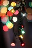 Cristmas lights Stock Image