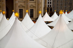 Cristmas marquees Royalty Free Stock Image