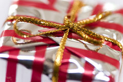 Cristmas present. Christmas present close up Stock Photo