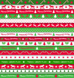 Cristmas ribbons Stock Photography