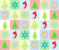 cristmas s предпосылки Стоковые Изображения RF