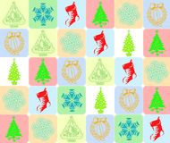 Cristmas's background Royalty Free Stock Images