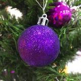 Cristmas tree. Closeup of Christmas tree Royalty Free Stock Image