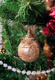 Cristmas tree decoration Royalty Free Stock Photos