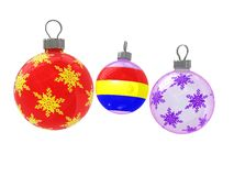 Cristmas tree decoration Royalty Free Stock Image