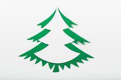 Cristmas tree paper Stock Photos