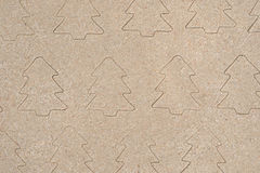 Cristmas trees pattern drawing in sand. Cristmas trees patterndrawing in sand background Royalty Free Stock Photo