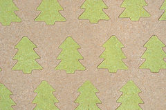 Cristmas trees pattern drawing in sand. Cristmas trees patterndrawing in sand background Royalty Free Stock Photos