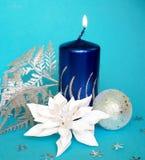 cristmas świec Zdjęcie Royalty Free